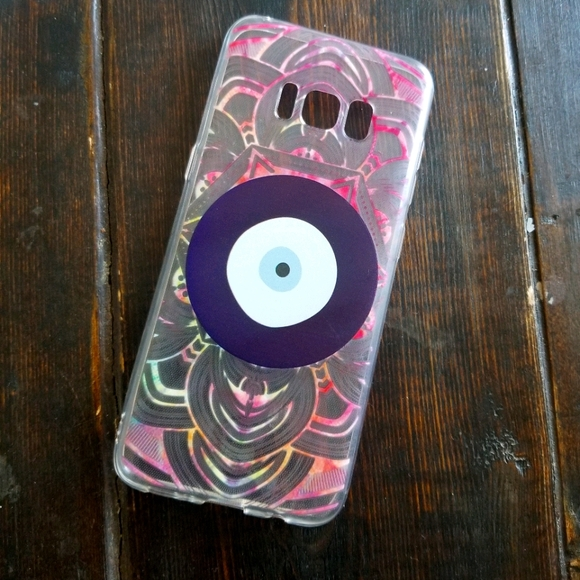 📱EVIL EYE DESIGN CELLPHONE CASE